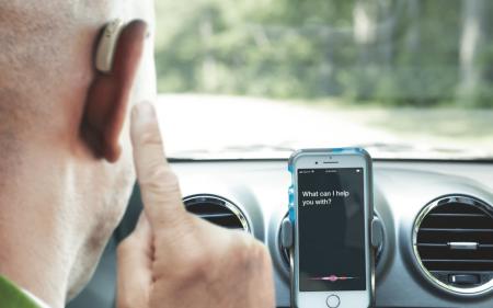 Hörgerät Sprachsteuerung